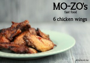 #ChickenWingChallenge: Mo-zo's Fast Food