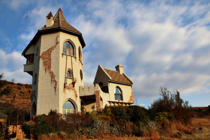 Rapunzels castle in clarens