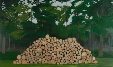 """""""Fuck It."""" Oil on Panel, 60in x 36in, 2012"""
