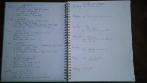 minimal bullet journal 1