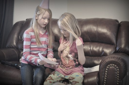Abby describing the gift she gave Lauren
