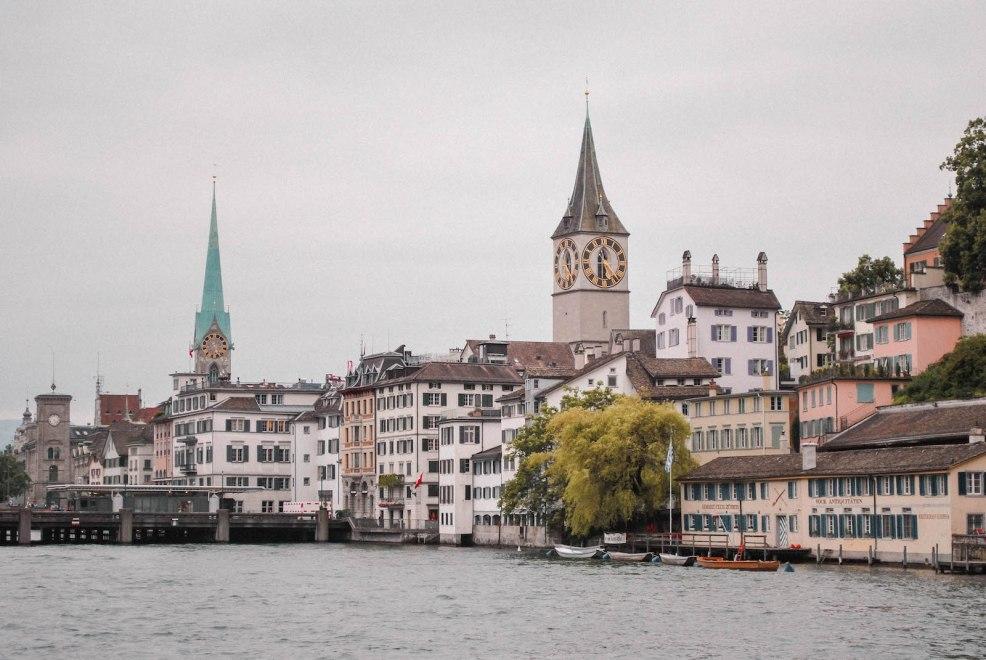 old town in Zurich Switzerland