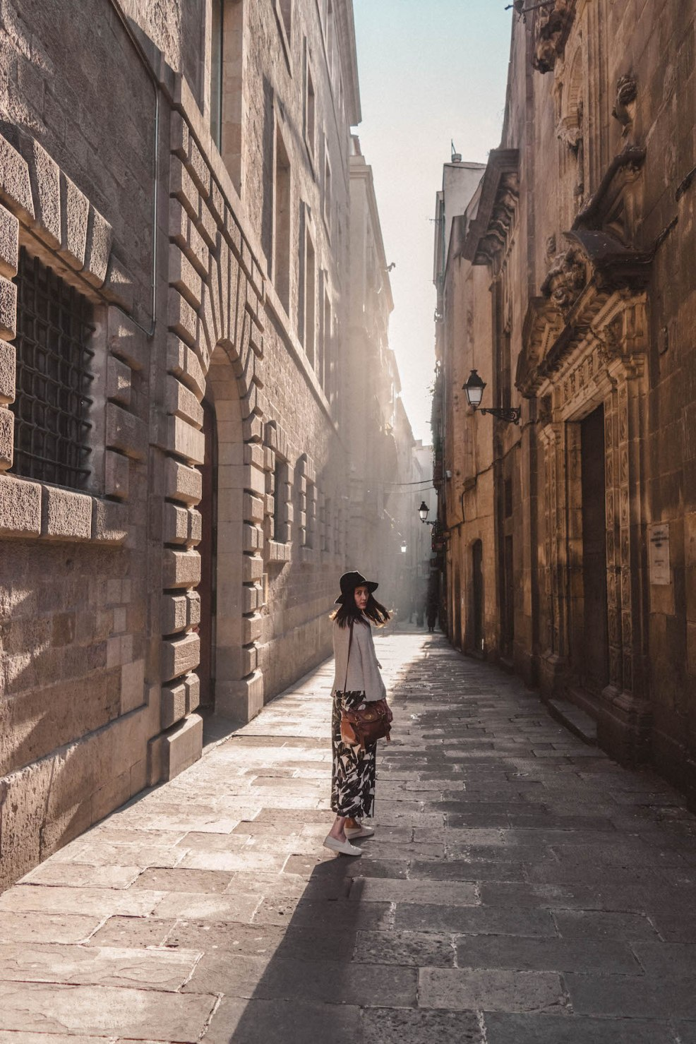 Discovering magical alleys in the Gothic Quarter
