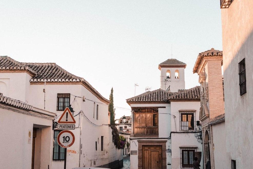 The charming Albayzin neighbourhood of Granada
