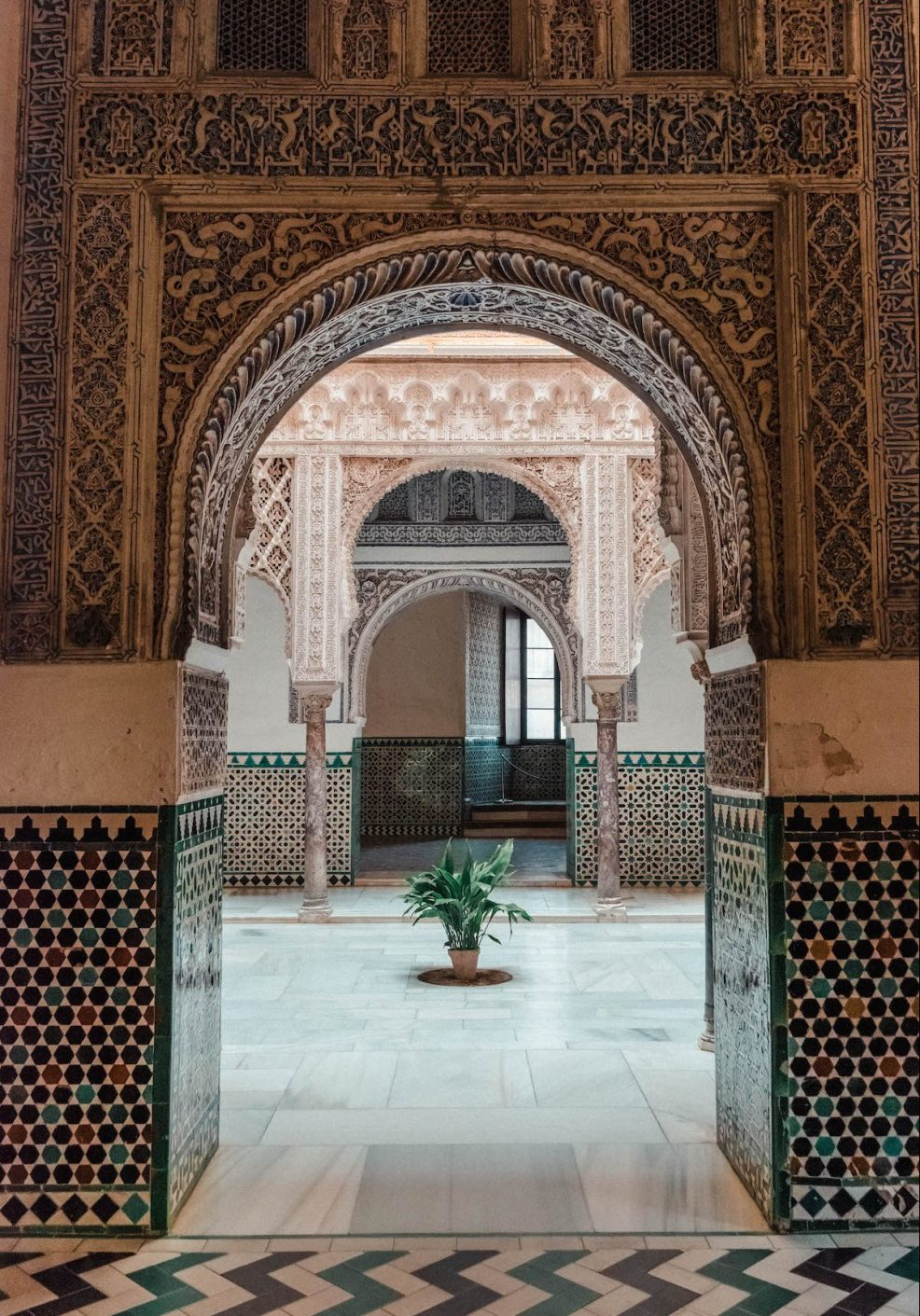 Stunning architecture at Real Alcázar de Sevilla