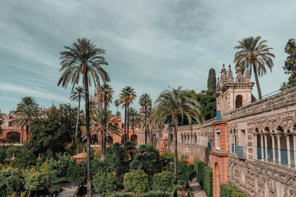 Gardens of the Real Alcázar de Sevilla