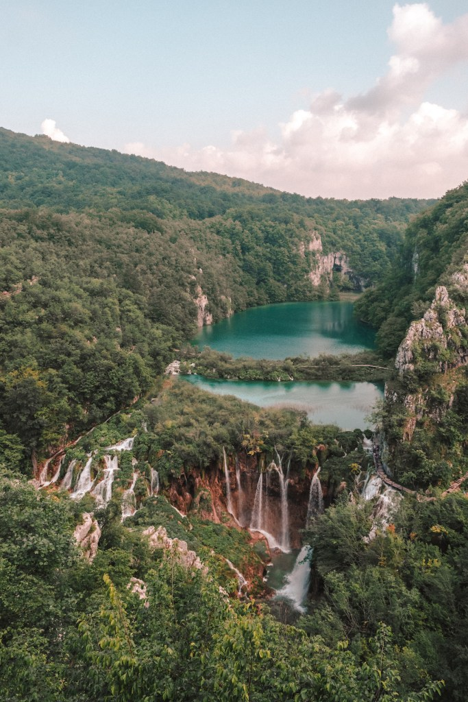 Plitvice National Park waterfalls