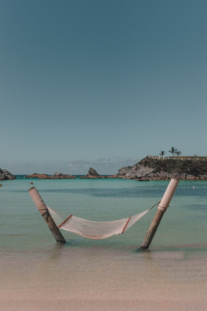 Hammocks at the Beach Club.