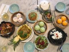 The cute Yum Cha dim sum restaurant.