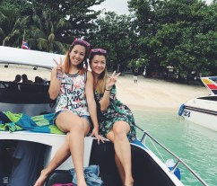 Two Very Important People on the Phi Phi Island tour.
