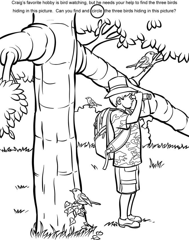 Children's Coloring Pages Book Illustrator for Hire