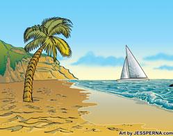 order landscape advertising artwork