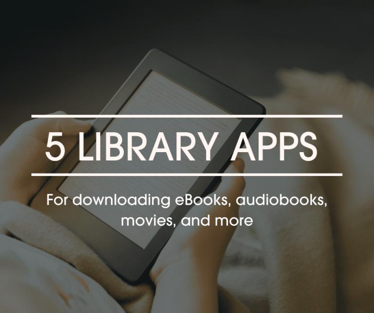 5 Library Apps Blog Header