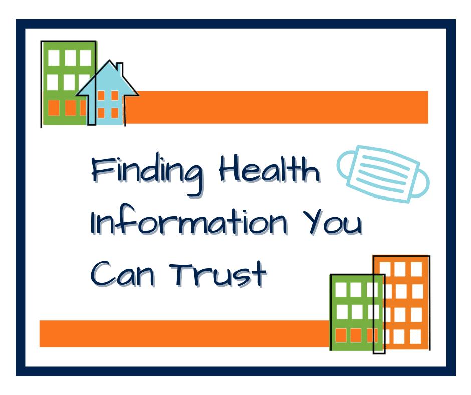 Finding Health Information blog header