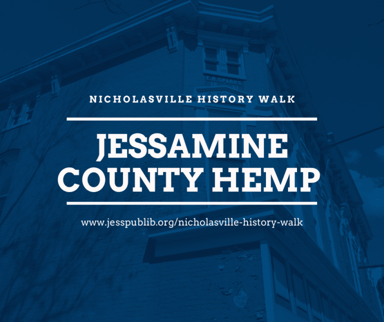 Jessamine County Hemp blog header