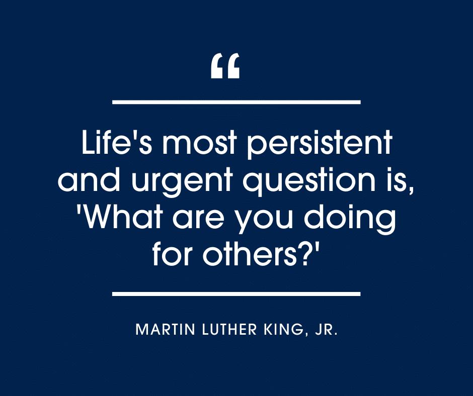 Martin Luther King Jr. blog header