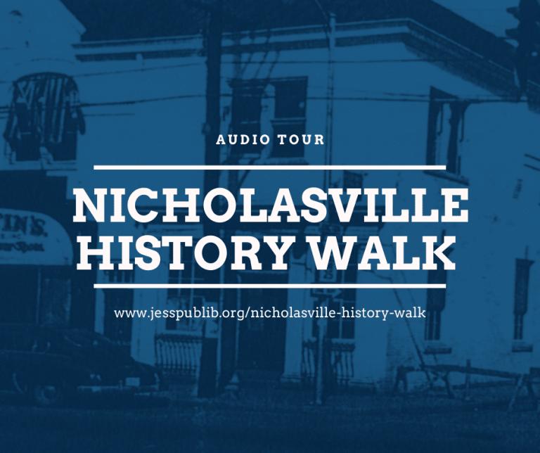 Nicholasville History Walk blog post