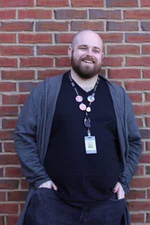 Teen Outreach Librarian Adam Wheeler