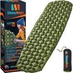 Sleepingo Camping Sleeping Pad - Mat, (Large), Ultralight 14.5 OZ