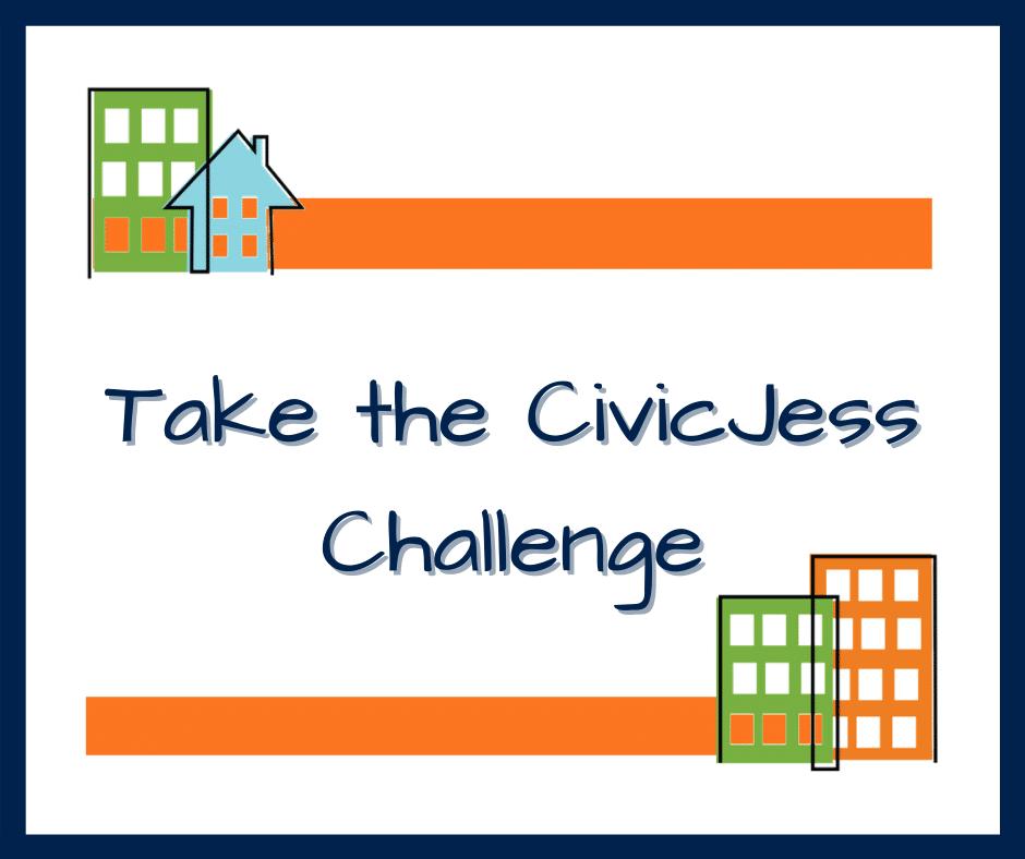 CivicJess blog header