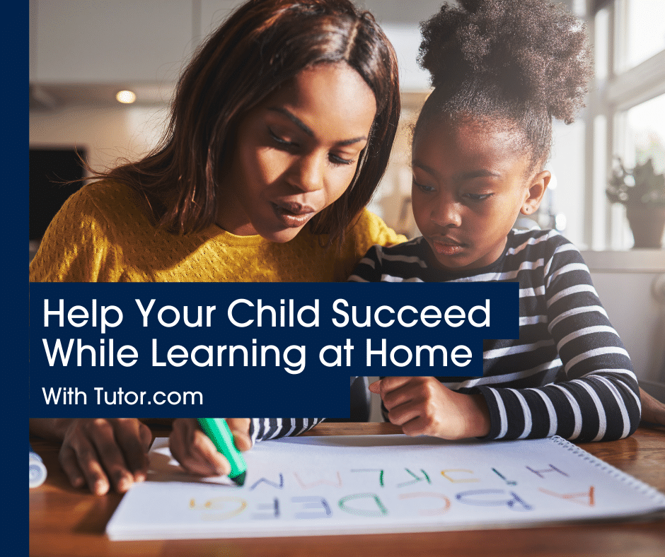 Help Your Child Succeed While Learning at Home blog header