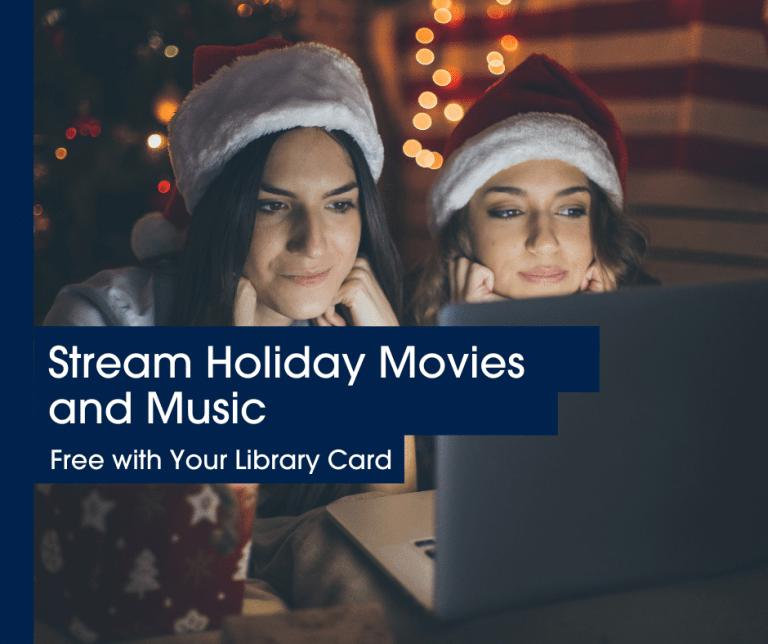 Holiday Movies and Music blog header