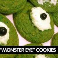 """MONSTER EYE"" COOKIE RECIPE"