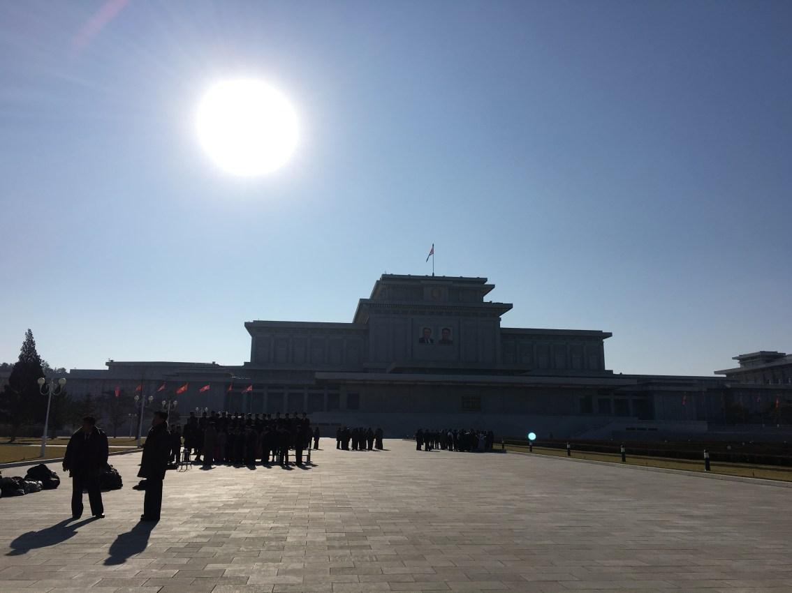 north korea dprk kamsusan palace of the sun mausoleum