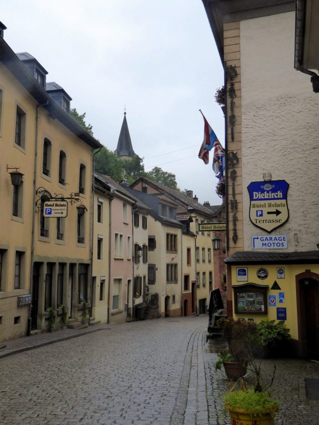 Vianden Town cASTLE LUXEMBOURG