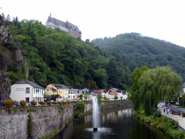 vianden town luxembourg castle