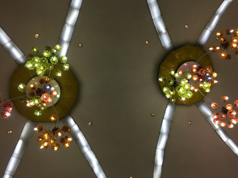 Pretty Lights in the Pyongyang Metro Station