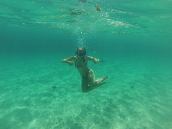 Such clear water !
