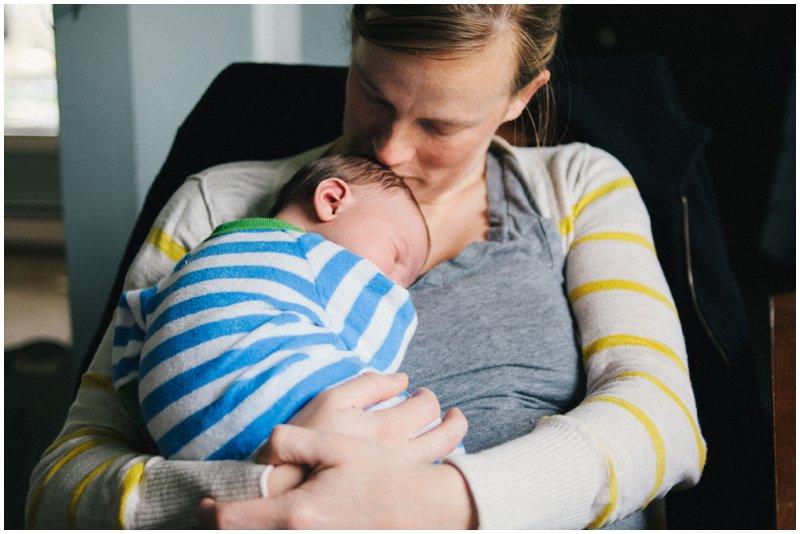 Tacoma lifestyle newborn photography