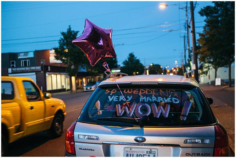 Fun, festive Tacoma wedding at Events on 6th