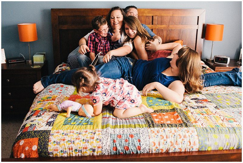 family storytelling photography