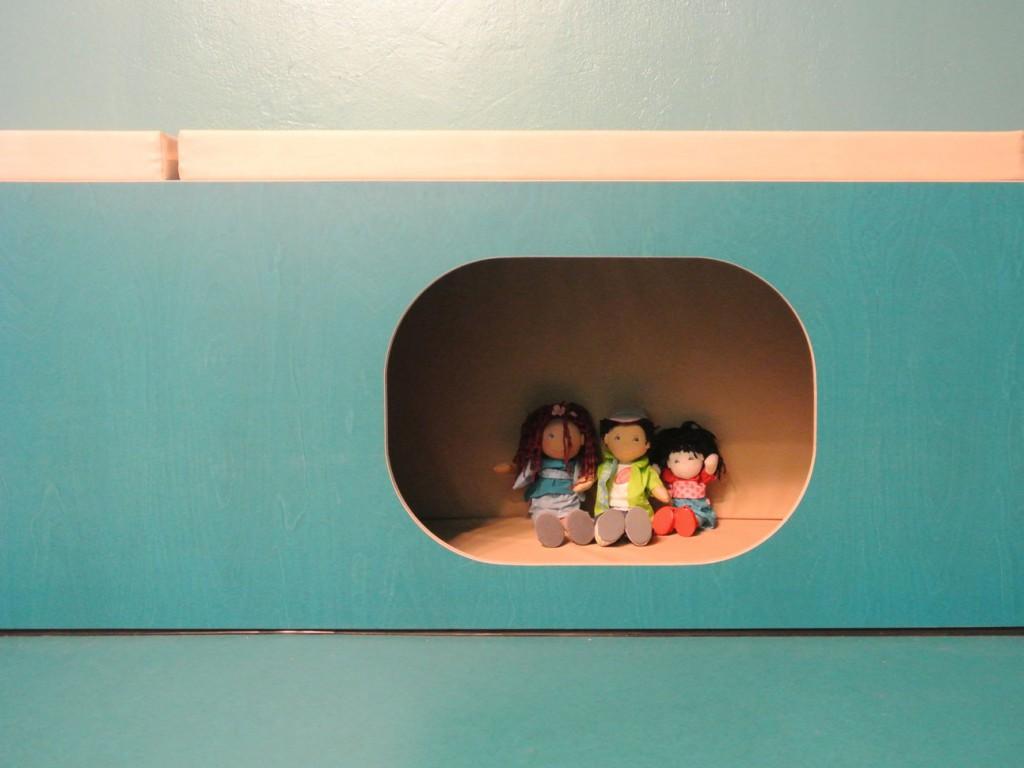 Das Bildungshaus - Die Kita - Ruhehöhle Detail