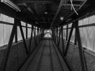 Bandbrücke - Die Auffahrt in die Mischanlage