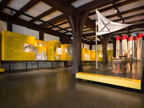 EG Übersicht Ausstellungsraum des Bauernkriegsmuseums