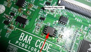 Flash Rom IC Caused Standby Problem in LED TV   Electronics Repair And Technology News
