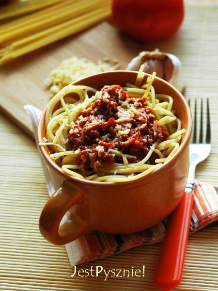 szybkie spaghetti bolognese V2