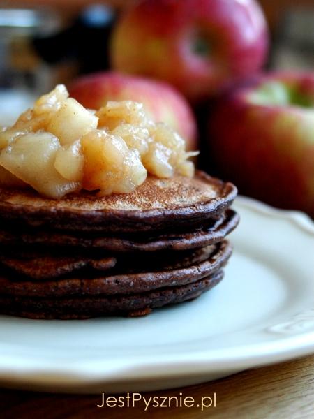 111 Pancakes czekoladowe z jabłkami V2