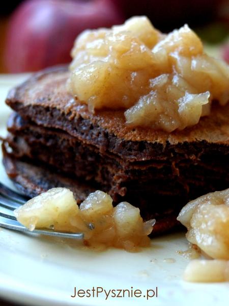 111 Pancakes czekoladowe z jabłkami V8