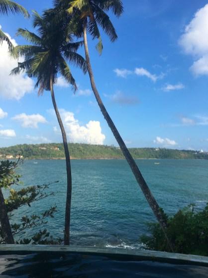 Sri Lanka: Luna Terrace view over bay in Galle