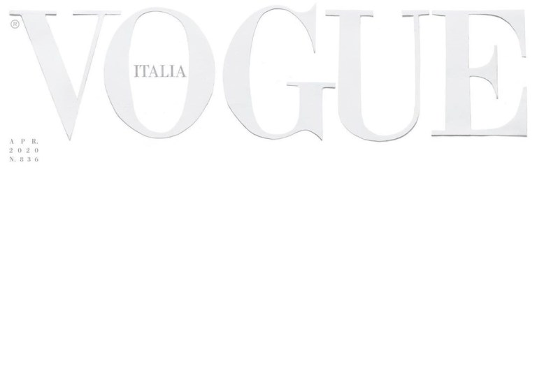 VOGUE ITALIA COVID-19