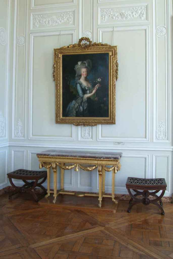 Portrait of Queen Marie-Antoinette in Petit Trianon   © Christian MILET