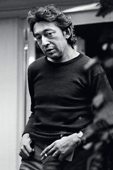 Serge Gainsbourg par CG Paris 1975 petite