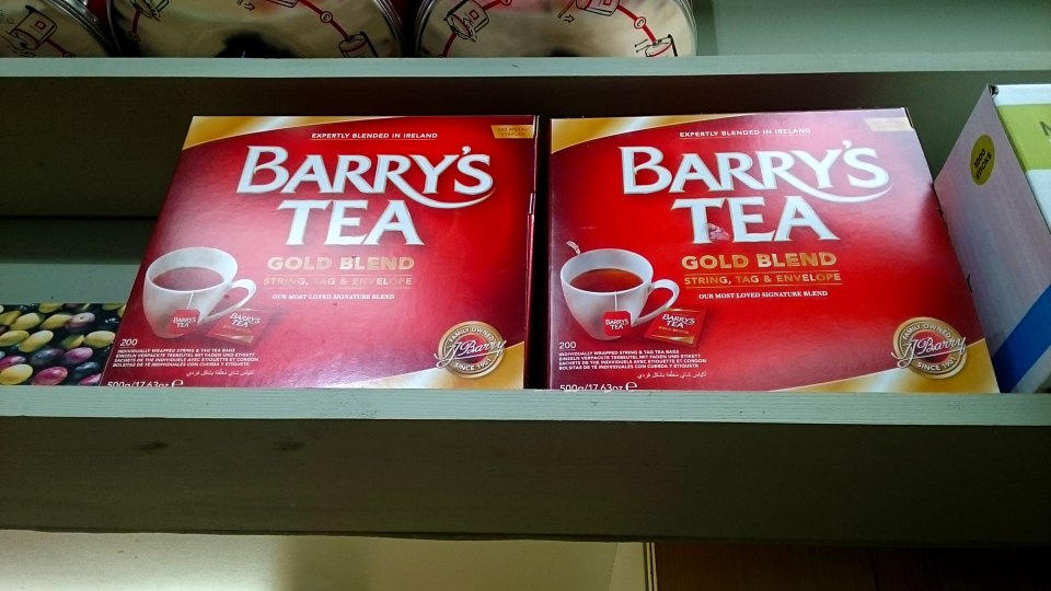 Barry's Tea | McCabe's Deli