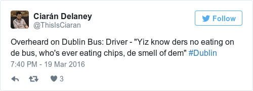 Dublin Bus tweet
