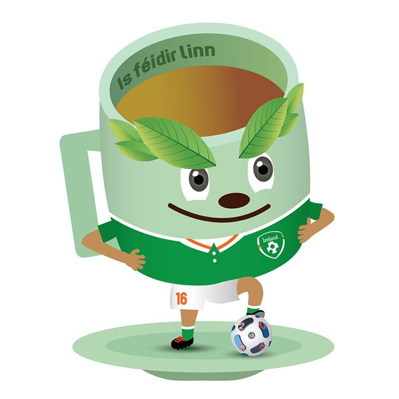 Loose leaf tea - Euro 2016 football | Personal-a-Teas