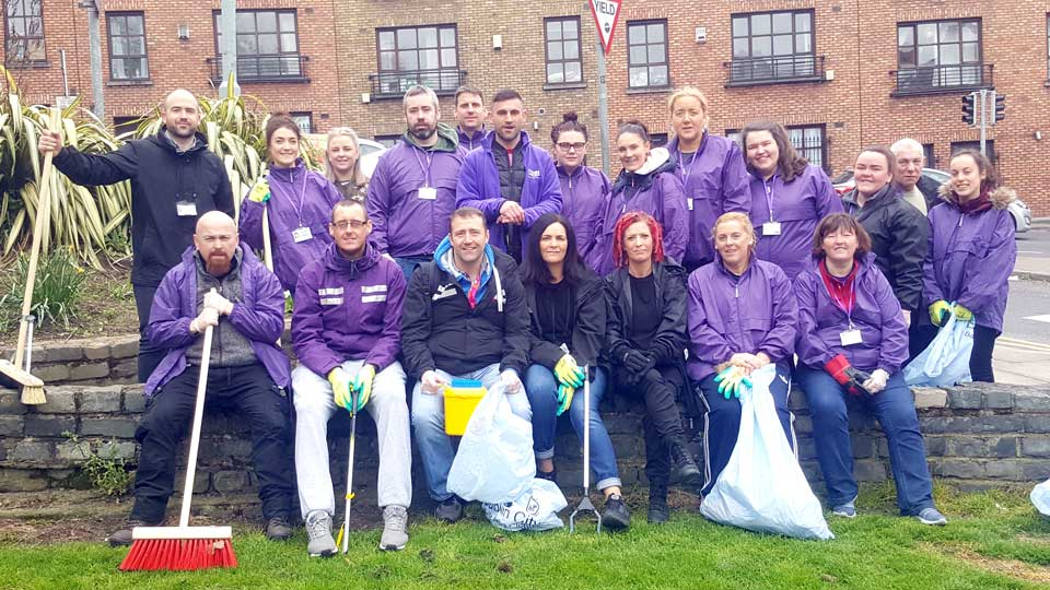 Merchant's Quay Ireland Staff
